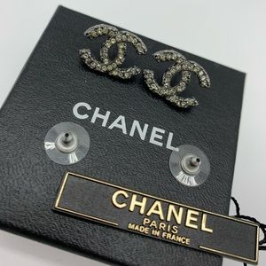 💜Rare💜Chanel crystals earrings